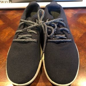 Allbirds men's wool runners dark blue asst